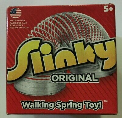 Slinky Original Metal Walking Spring Toy Made In Usa Since 1945 Ages 5+ New