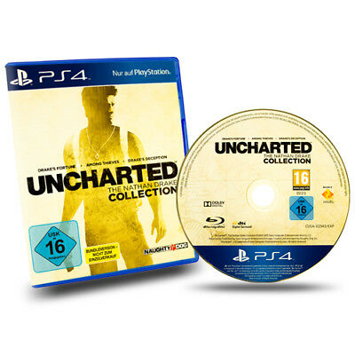 PS4 Playstation 4 Spiel Uncharted The Nathan Drake Collection in Ovp