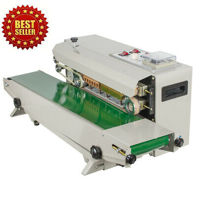 COMMERCIAL PLASTIC BAG Continuous Band Sealer Automatic Sealing Machine  110V500W