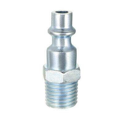 Quick Coupler , Air Quick-Connect Fitting , 1/4-Inch NPT Male Thread , Pack of 2