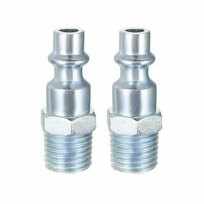 Quick Coupler , Air Quick-Connect Fitting , 1/4-Inch NPT Male Thread Pack of 10