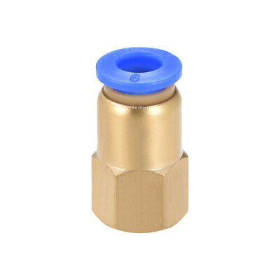"Push to Connect Tube Fitting Adapter 6mm OD x G1/8"" Female"