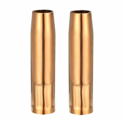 Mig Torch Nozzle 1.2mm Welding Conical Nozzle Shield Cup for 200A Welding 2pcs