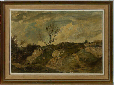 Oliver Hall RA (1869-1957) - Early 20th Century Oil, Rocky Highland Landscape