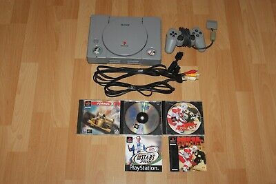 Sony PlayStation 1 PS1 Classic Konsole + Kabel + Controller + Spiele