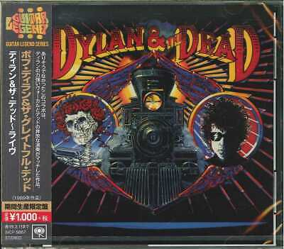 BOB DYLAN & GRATEFUL DEAD-DYLAN & THE DEAD - LIVE-JAPAN CD Ltd/Ed B63