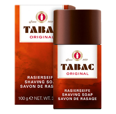 TABAC 2 x Shaving Soap Sticks 100g each