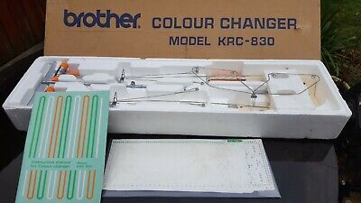 krc 830 brother double bed colour changer very good condition