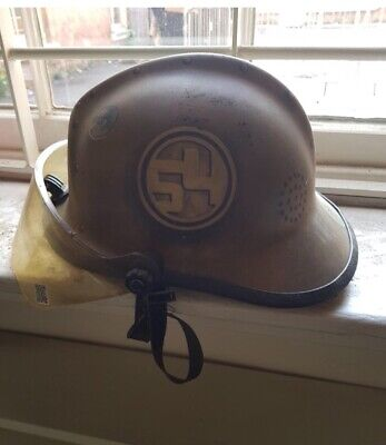 old firemans hat collectable