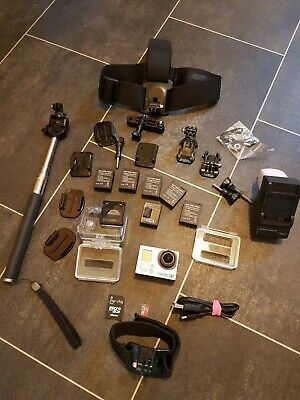 GoPro HERO3 Action Camera - Silver + accessories