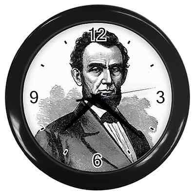 President Abraham Lincoln Art Wall Clock