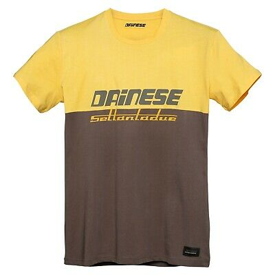 Dainese Dunes T-Shirt Morel/old-Gold M