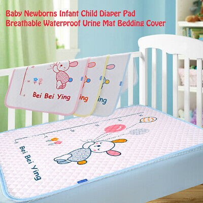 Baby Infant Waterproof Soft Urine Mat Changing Pad Cover Change Cover Mat 50x70c