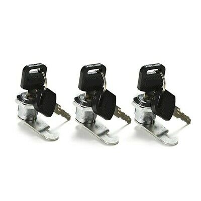 Mailbox Lock, 3 Pack Cam Lock for Cabinet Letter Box Locker Drawer Door Cup X3U5