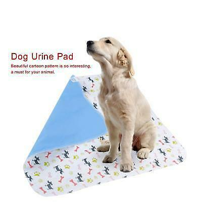Puppy Pet Dog Training Pee Diaper Pad Dog Trainer Urine Pad Mat Waterproof S/M/L