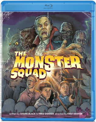 MYSTERY/SUSPENSE-Monster Squad Blu-Ray NEW