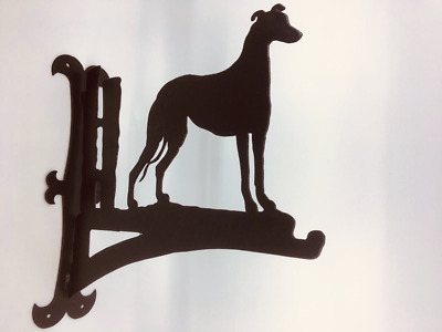Greyhound Hanging Basket Bracket