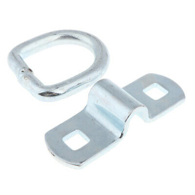 Metal D Ring Tie-Down Anchor for Load on RV Camper, Truck, Trailer