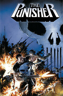 Marvel The Punisher #1 - Crain 1:25 Variant - New Unread - 1St Print 2018