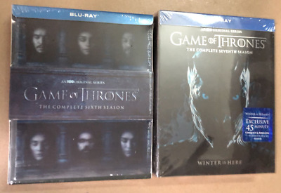 Game of Thrones Season 7 Complete Blu-ray No Digital Free Shipping US Seller NEW