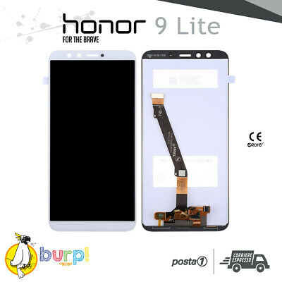Display Lcd + Touch Screen Vetro Huawei Honor 9 Lite Schermo Bianco Lld- Youth