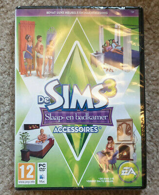 PC DVD The Sims 3 Master Suite Stuff Expansion New Dutch Ver Eng Game Damaged