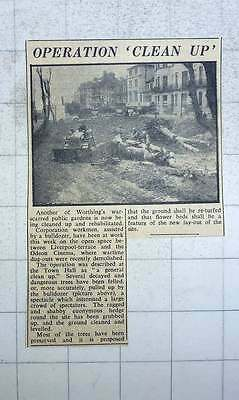 1949 Rehabilitation For Liverpool Terrace, Odeon Cinema Public Gardens