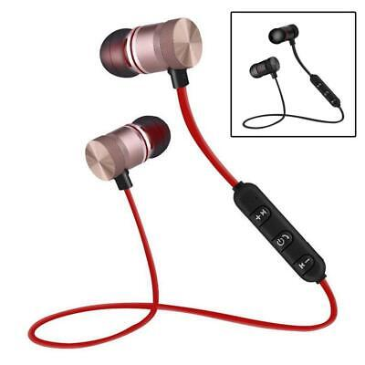 Magnet Sports Wireless Bluetooth Earphone Headset Headphone For iPhone Samsung