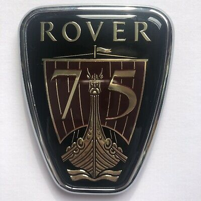 Rover 75 Front Grille Badge, Genuine Authentic Brand New (Dab101610)