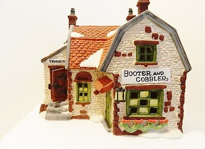 "Dept.56  Dickens Village Series  "" Booter And Cobbler "" ,  #59242   ,"