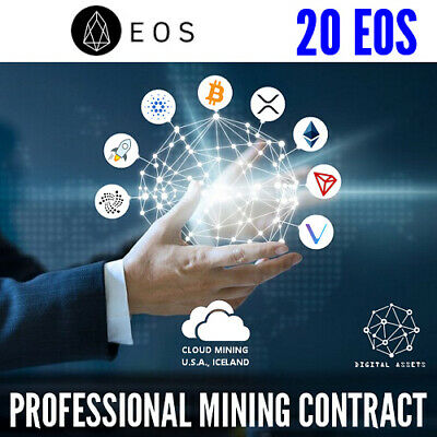 20 EOS ( EOS ) Guaranteed Cryptocurrency Mining Contract