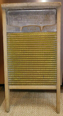 VINTAGE NATIONAL WASHBOARD CO NO. 186 from 1915