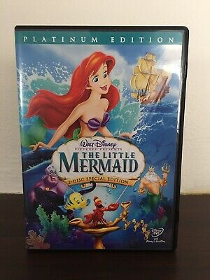 "Disney's ""The Little Mermaid"" Platinum Edition DVD (2006, 2-disc set)"