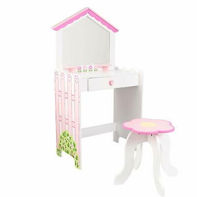 NEW KidKraft Child Vanity & Stool (part of Dollhouse Bedroom Collection)