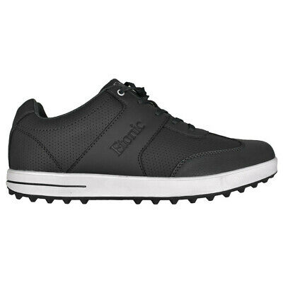 NEW Mens Etonic Comfort Hybrid Waterproof Golf Shoes Black/White- Choose Your Sz