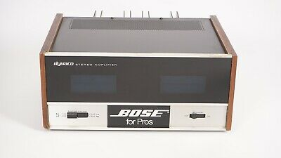 Dynaco ST-150 Stereo Power Amplfier - Vintage Solid-State - Front Meters