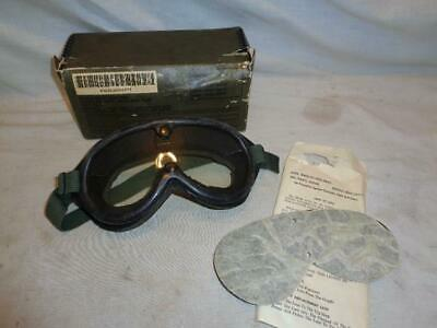 Vintage SEALTECH NSN 8465-01-004-2893 Military Goggles Sun, Wind And Dust