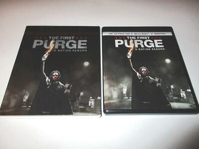 The First Purge (Blu-ray 4K UHD, 2018) 1-Disc Never Viewed NO CASE