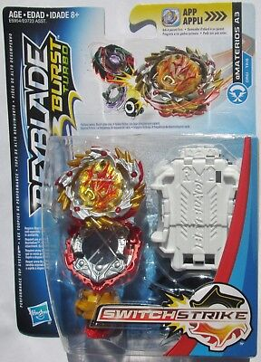 + Beyblade Burst Turbo Switch Strike Amaterios A3 - Hasbro - US Seller