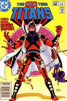 New Teen Titans (1980 series) #22 in Very Fine minus condition. DC comics [*lu]