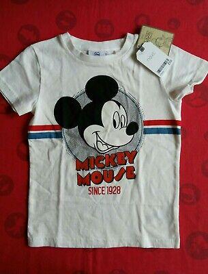 BNWT Next Boys Mickey mouse T-shirt Age 4-5 years