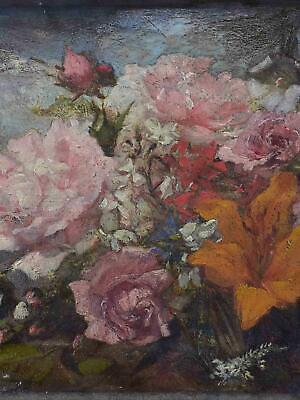 Late 19th Century French floral painting