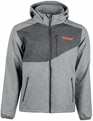 Fly Racing Checkpoint Jacket Md Grey/Orange 354-6382M
