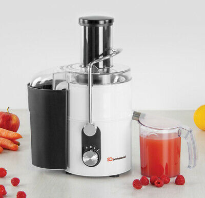 Power Health Juicer Whole Fruit Veg Extracor 800W 2 Speed 1.4L Pulp Container W