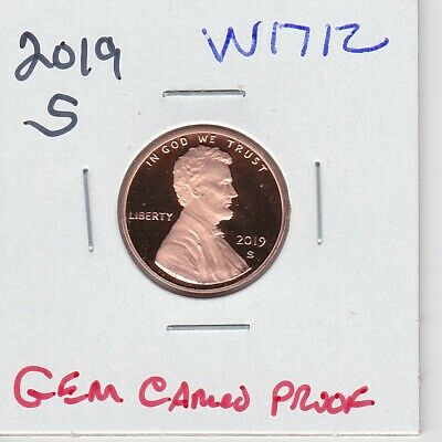Kappys W1712 2019S Superb  Gem Cameo Proof Lincoln Cent Penny  Free Shipping