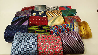 LOT 50 Pcs Silk Neckties Job Dress Wear NECK TIE Quilting Cutter Wholesale Lots