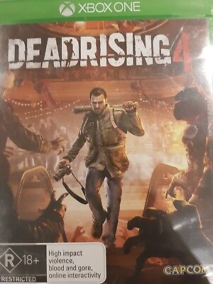 Dead Rising 4 (Microsoft Xbox One, 2016), BRAND NEW, SEALED