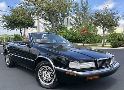 1990 TC by Maserati Convertible 1990 CHRYSLER TC by MASERATI, AUT TRANS, JUST 1 OWNER, NO ACCIDENTS, NO  RESERVE