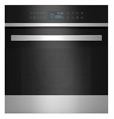 """24"""" 9 Cooking Functions Electric LED Digital Touch Control Convection Wall Oven"""