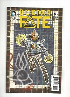 Doctor Fate #1 1st Khalid Nassour Dr. Fate Movie, 9.4 NM or better! 2015 DC
